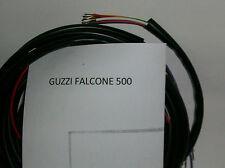 IMPIANTO ELETTRICO ELECTRICAL WIRING MOTO GUZZI FALCONE 500 + SCHEMA ELETTRICO