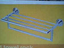 Style stainless steel in Chrome Towel Shelf  /towel rail