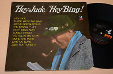 BING CROSBY LP HEY JUDE (BEATLES) HEY BING 1°ST ORIG ANNI '70 TOP EX !!!!!!!!!!!