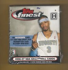 2006/07 Topps Finest Basketball Mini Box Sealed Mint Hobby Only Original Stock