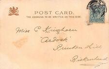 """Miss. C. Kingham, """"Ardock"""" Preston Hill, Birkenhead   1902 CB32"""