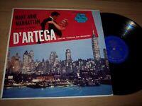 NM D'Artega Make Mine Manhattan LP Album on Wing