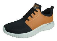 Skechers Depth Charge 2.0 Voluntold Mens Casual Sneakers Shoes Black Brown