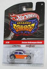 Hot Wheels LARRY'S GARAGE CUSTOM VOLKSWAGEN BEETLE REAL RIDERS 1:64