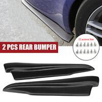 Side Skirt Rear Bumper Lip Splitter Winglet Aprons For BMW 3 Series E90 E91 E92