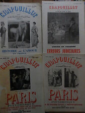 LOT 4 REVUES LE CRAPOUILLOT 1960 N° 47 / 48 / 49 / 50 /
