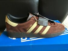 adidas munchen spzl brown/cream size 9.5 new with tags