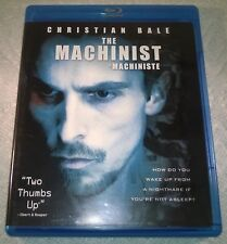The Machinist (Blu-ray, 2009, Canada) Special Edition Like New