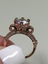 Victoria Wieck 925 sterling silver Rose Gold Sz 10