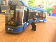 LEGO CITY Blue Tram Split From 8404 Public Transport Station (with Instructions)