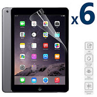 [6 Pack] HD Anti-Scratch 9.7'' Screen Protector Shield For Apple iPad 2 3 4