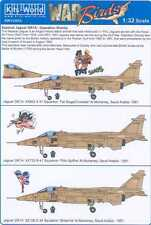 Kits World Decals 1/32 SEPECAT JAGUAR GR-1A Operation Granby Persian Gulf