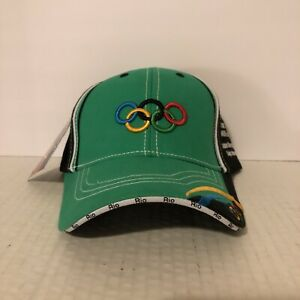 VERY RARE Rio 2016 Olympics BALL CAP LOW PROFILE SALESMAN SAMPLE NWT ONLY ONE!