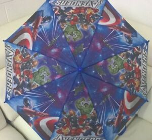 Marvel Avengers Boys Kids Umbrella Kids Gift with Whistle