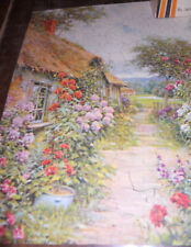 Vintage Perfect Picture Jigsaw Puzzle Gorgeous Colors Complete Interlocking 250+