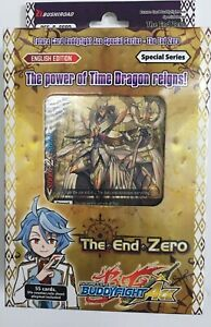 Future Card Buddyfight Ace, The End Zero, BFE-S-SS03 plus 6 Booster card packs