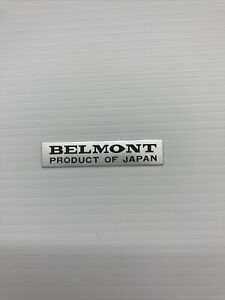 belmont barber chair Sign