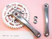 Sugino Impel 500 Fahrrad Kurbelsatz - 175mm 22x32x42 Kurbelsatz Nummern