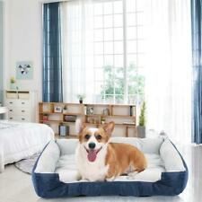 Dog Bed Memory Foam Luxury Large Thick Pet Mat Removable Washable Cover S0A9
