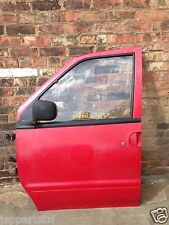 BREAKING SPARES PARTS NISSAN VANETTE SERENA NSF PASSENGER FRONT DOOR SHELL RED