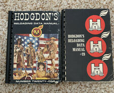 Lot Vintage Hodgdon Reloading Data Manuals #19 and #21