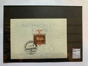 Deutsches Reich, Block 10, gestempelt, ungeprüft