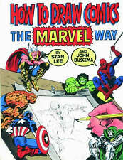 How to Draw Comics the  Marvel  Way by John Buscema, Stan Lee (Paperback, 1986)
