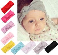 bébé tout-petit enfants nœud Filles Bandeau turban coton Mignon chapeau