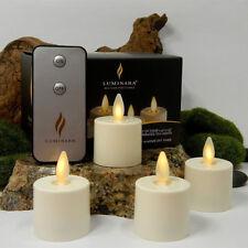 Luminara Tea Lights set of 6 Ivory
