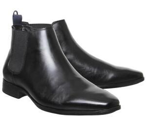 Office Chelsea Boot UK size 10 BNIB Leather Black Boe Amazing Quality Half Price