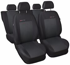 TAILORED CAR SEAT COVERS FOR PEUGEOT 206 - grey3