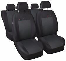 Adaptado cubiertas de asiento de Coche para Peugeot 206-Gris 3