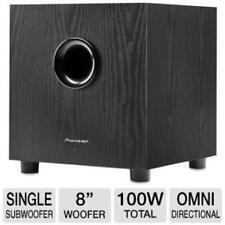 Pioneer Sw-8mk2 Subwoofer System - 100 W Rms - 38 Hz - 150 Hz (sw-8mk2) (sw8mk2)