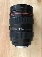 Canon EF 28-70mm f/2.8 L (pre 24-70mm) - Fully working great condition for age!