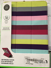 "BELKIN REVERSIBLE STRIPED CASE FOR IPAD AIR 2  9.7"" NEW"