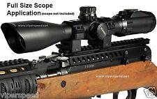 SKS Scope Mount - UTG Pro SKS Receiver Cover Mount - 22 Slot w/ Shell Deflector