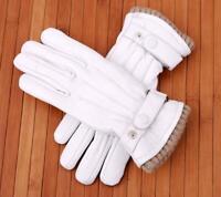 Women's Premium Quality Genuine Lambskin Leather Winter Warm Dress Driving Glove
