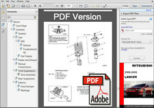 factory service repair manual ebay stores rh ebay com 2008 mitsubishi lancer service manual pdf 2005 Lancer