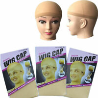 3 COLORS BRAND NYLON WIG CAP STOCKING CONTROL HAIR WIG UNDER UNISEX -! I7K7