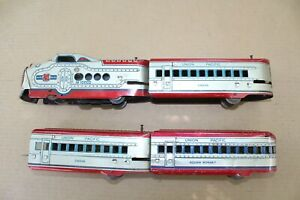 MARX M10005 Articulated Streamliner 7674 Red Silver Union Pacific JB