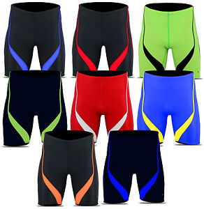 ACCLAIM Fitness Shanghai Mens Compression Running Fitness Training Lycra Shorts