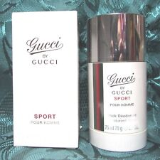 GUCCI By GUCCI Sports Pour Homme  2.4oz Deodorant Stick (Sealed)