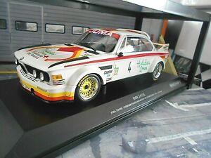 BMW 3.0 CSL #4 Corbisier Joosen Berndtson Nürburgring 1976 Juma Minichamps 1:18