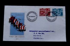 Denmark-1969-Postal Administration FDC-Posted to Zambia