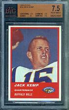 1963 Fleer Football Card #24 Jack Kemp Beckett Vintage Graded 7.5