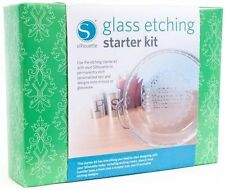 Silhouette America GLASS ETCHING STARTER KIT - Brand New