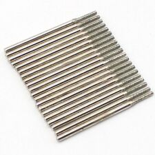20Pcs 1.5 mm Diamond Drill Solid Bits Coated Hole Saw Jewelry Tools for Gemstone