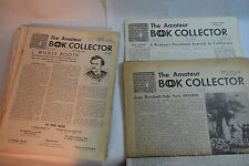 18 Amateur Book Collectors 1st Issue & Odd Issues 1950-1955 + 1 American BC 1956