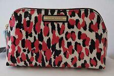 Tommy Hilfiger TH Signature Dome Cosmetic Case, Petunia / Black
