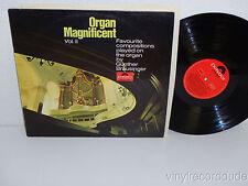 GUNTHER BRAUSINGER Organ Magnificent Vol II LP Polydor 148 035 (1965) Germany